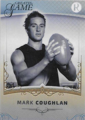 Mark Coughlan, Gold Parallel, 2017 Regal Football Greats of the Game