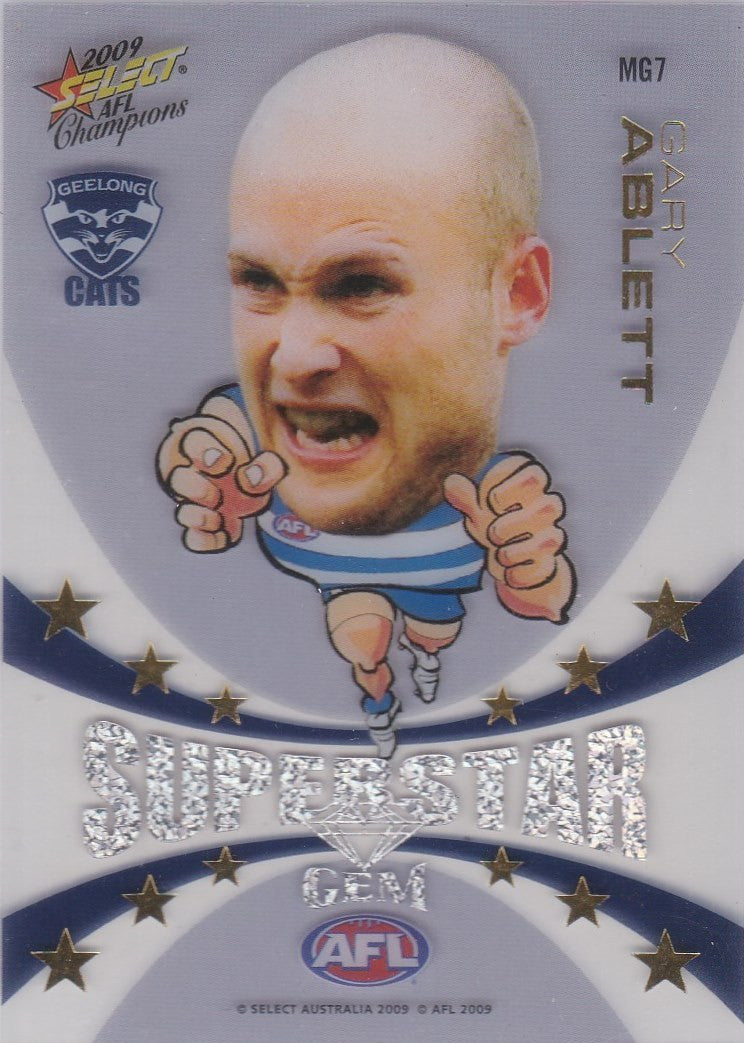 Gary Ablett, Superstar Gem, 2009 Select AFL Champions
