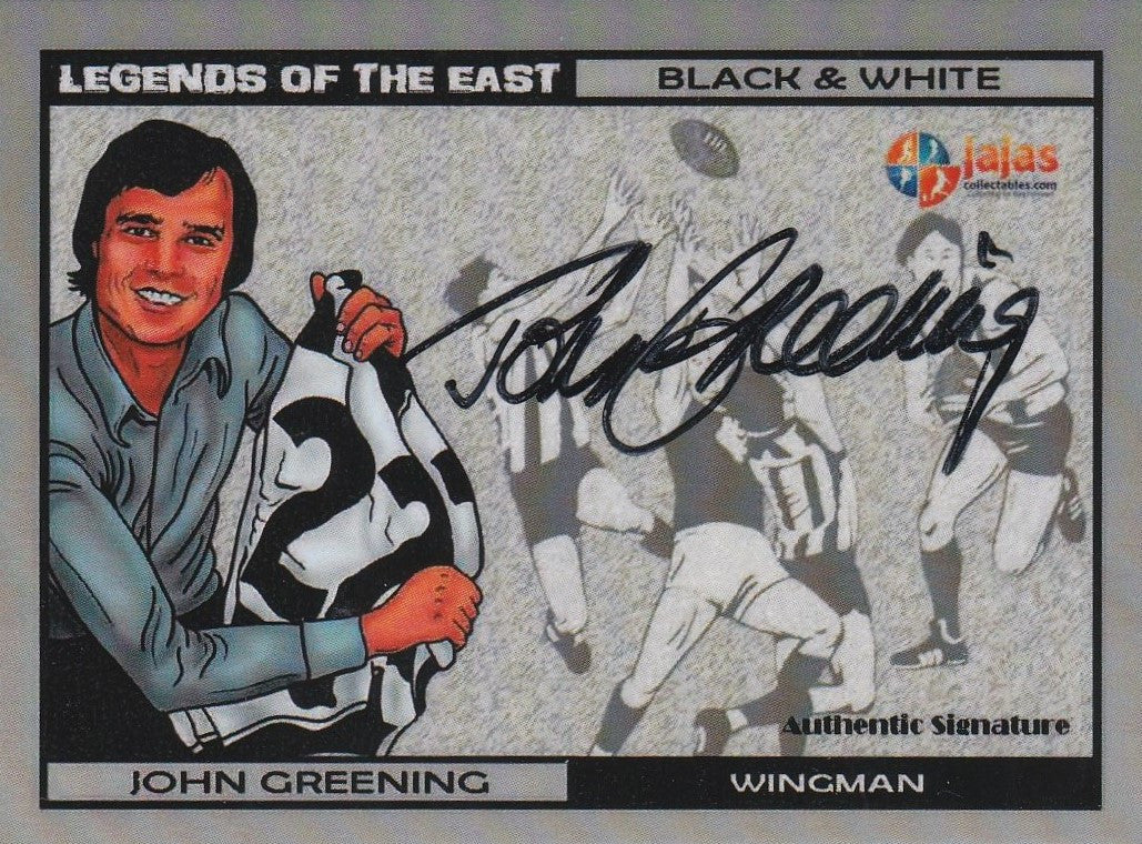 John Greening, Legends of the East, Ja Ja's Collectables
