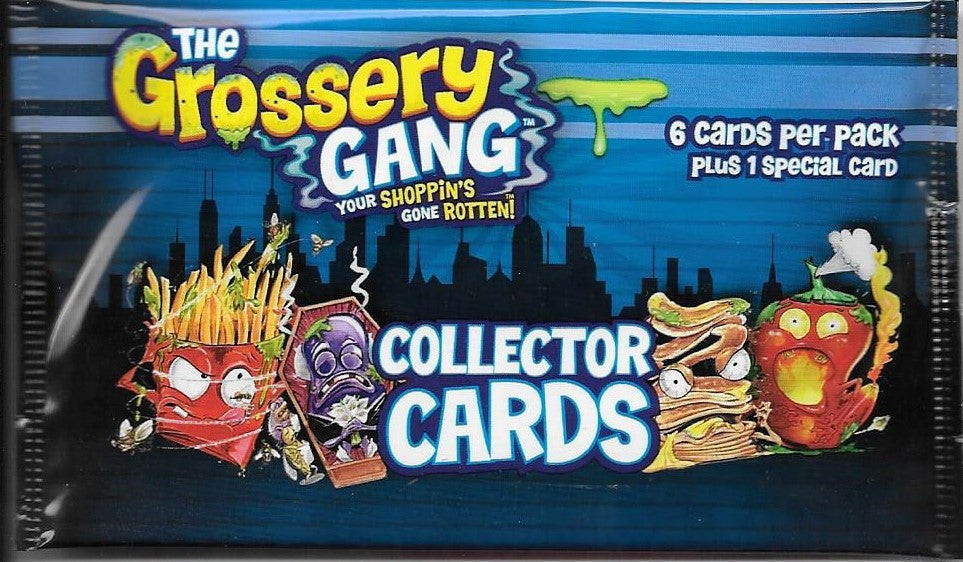 The Grossery Gang Collector Cards Pack