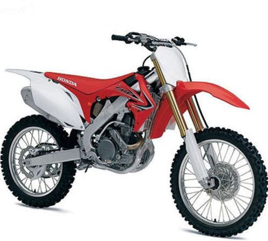 Honda CR250R 2012 Dirt Bike, 1:12 Diecast with Plastic