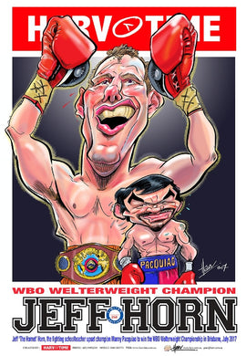 Jeff Horn, Harv Time Poster
