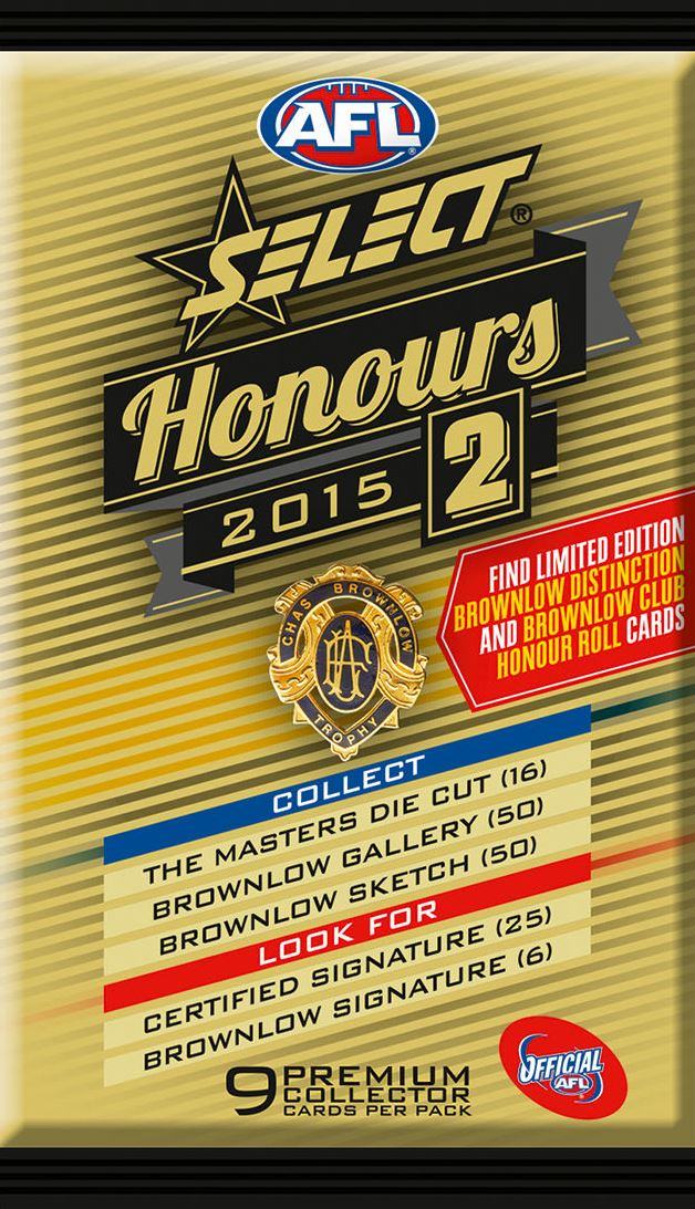 2015 Select AFL Honours 2 Set of 220 Football cards