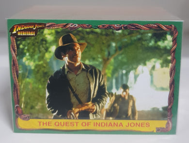 Indiana Jones, Base set of 90 cards, 2008 Topps Heritage