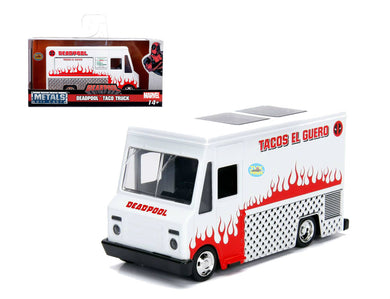 Deadpool - Food Truck White Hollywood Rides 1:32 Scale Diecast Vehicle
