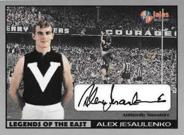 Alex Jesaulenko, Legends of the East, Ja Ja's Collectables