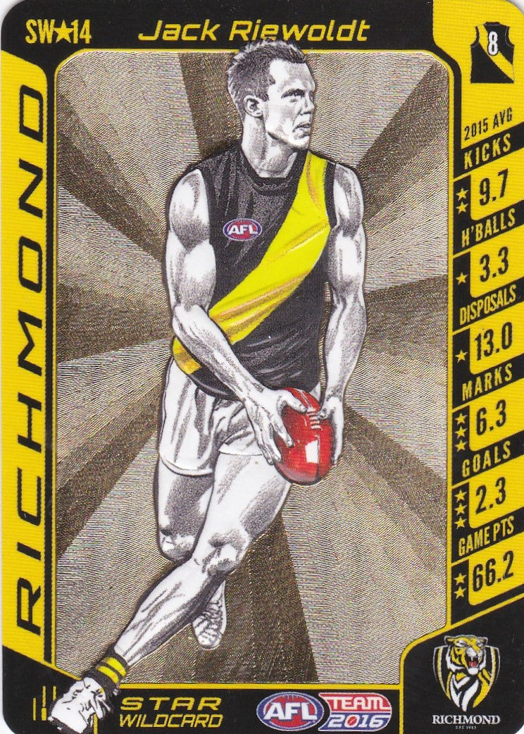 Jack Riewoldt, Star Wildcard, 2016 Teamcoach AFL