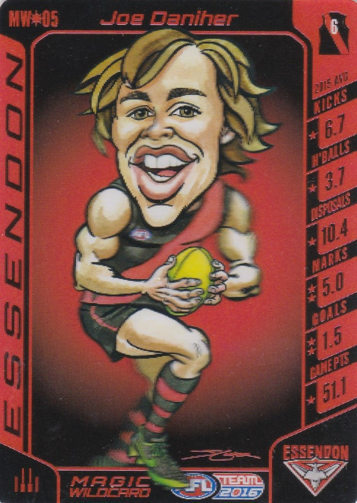 Joe Daniher, Magic Wildcard, 2016 Teamcoach AFL