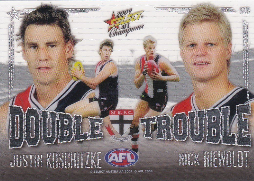 Koschitzke & Riewoldt, Double Trouble, 2009 Select AFL Pinnacle