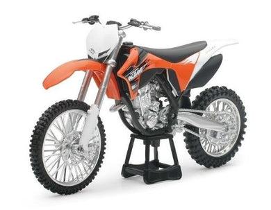 KTM 350 SX-F 2011 Dirt Bike, 1:12 Diecast with Plastic