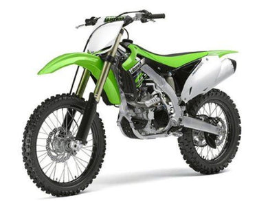 Kawasaki KX 450F 2012 Dirt Bike, 1:12 Diecast with Plastic