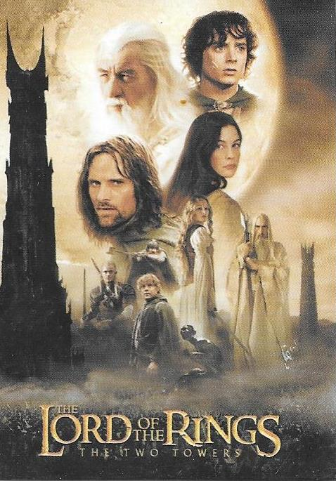 Lord of the Rings, The Two Towers, Base set of 72 cards, 2002 Topps