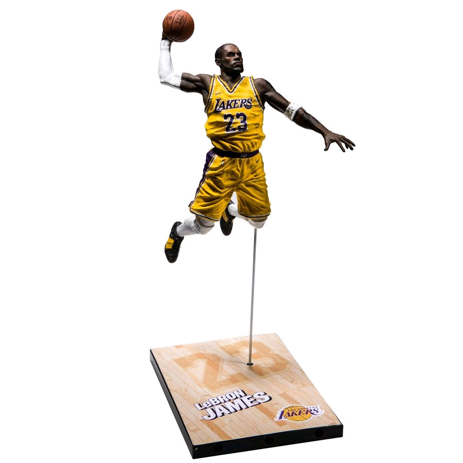 LeBron James, NBA - 2K Series 01 McFarlane Action Figure