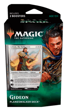 GIDEON - War of the Spark Magic the Gathering Planeswalker Deck