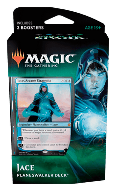 JACE - War of the Spark Magic the Gathering Planeswalker Deck