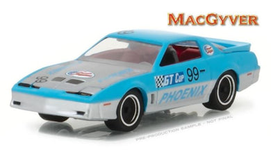 MacGyver 1986 Pontiac Firebird, 1:64 Diecast Vehicle