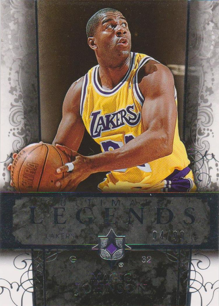 Magic Johnson, Ultimate Legends, 2006-07 UD Ultimate Collection NBA