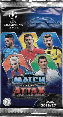 2016-17 Topps Match Attax UEFA Champions League Pack