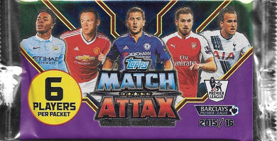 2015-16 Topps Match Attax EPL Pack