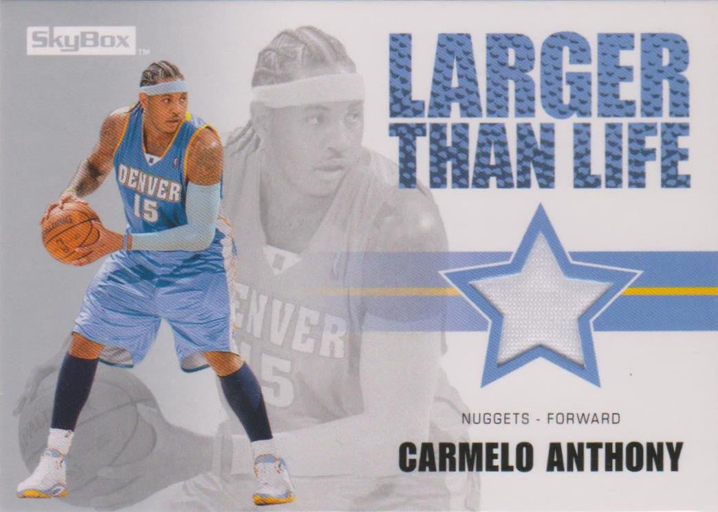 Carmelo Anthony, Larger than Life, 2008-09 Skybox NBA