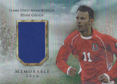 Ryan Giggs, Memorable, 2016 Futera Unique Soccer