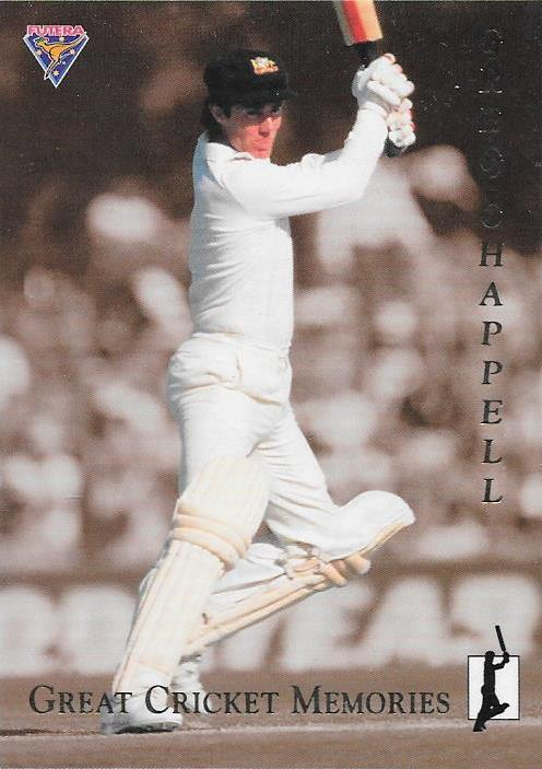 Greg Chappell, Great Cricket Memories, 1994-95 Futera Cricket