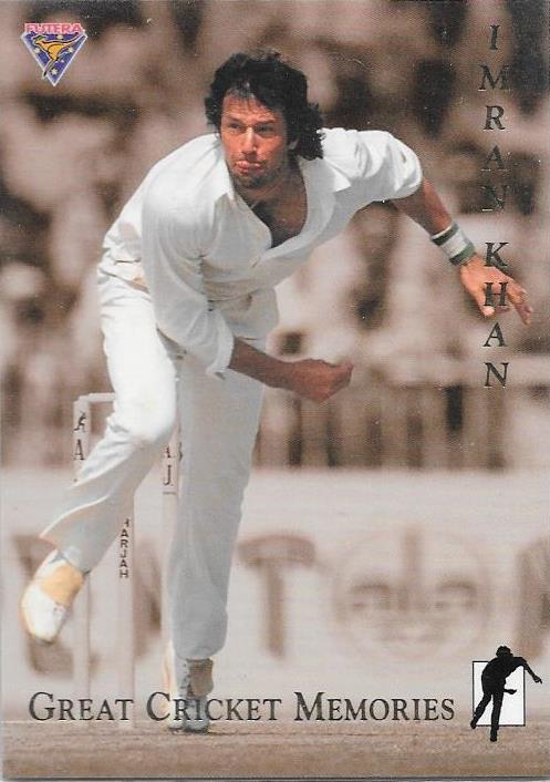 Imran Khan, Great Cricket Memories, 1994-95 Futera Cricket