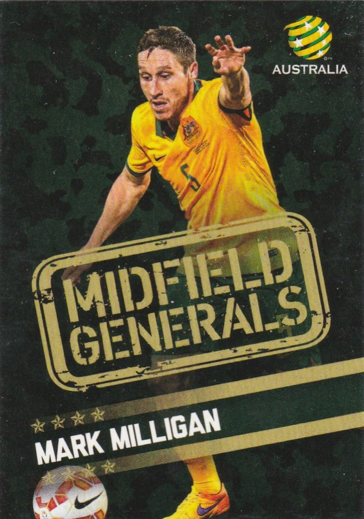 Midfield Generals Set, 2015-16 Tap'n'Play A-League FFA