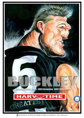 Nathan Buckley, The Greatest, Harv Time Poster