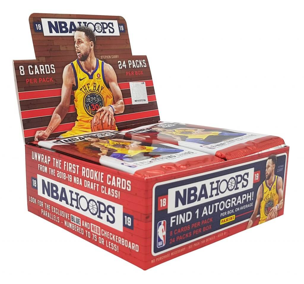 2018-19 Panini Hoops Basketball Retail Box