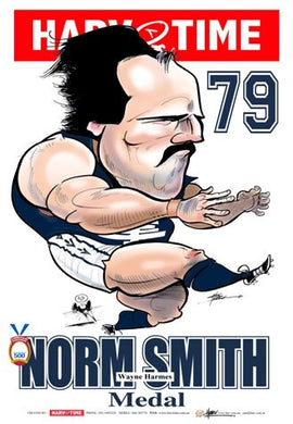 Wayne Harmes, 1979 Norm Smith Medal, Harv Time Poster