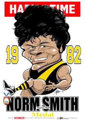 Maurice Rioli, 1982 Norm Smith Medallist, Harv Time Poster
