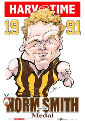 Paul Dear, 1991 Norm Smith Medal, Harv Time Poster