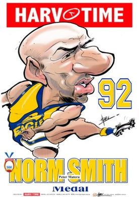 Peter Matera, 1992 Norm Smith Medal, Harv Time Poster