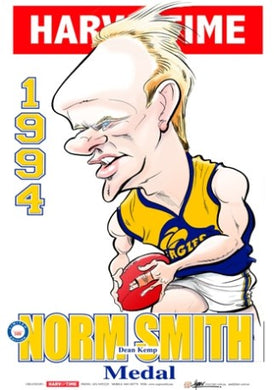 Dean Kemp, 1994 Norm Smith Medal, Harv Time Poster
