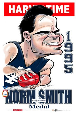 Greg Williams, 1995 Norm Smith Medal, Harv Time Poster