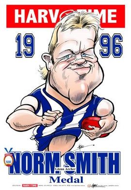 Glenn Archer, 1996 Norm Smith Medallist, Harv Time Poster