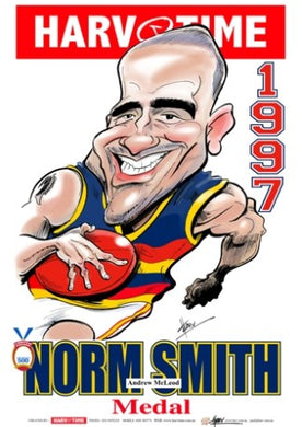 Andrew McLeod, 1997 Norm Smith Medal, Harv Time Poster
