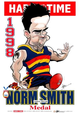 Andrew McLeod, 1998 Norm Smith Medal, Harv Time Poster