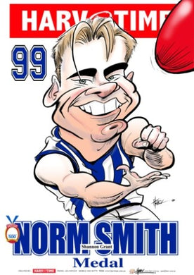 Shannon Grant, 1999 Norm Smith Medal, Harv Time Poster