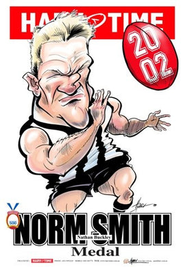 Nathan Buckley, 2002 Norm Smith Medal, Harv Time Poster