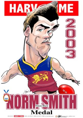 Simon Black, 2001 Norm Smith Medal, Harv Time Poster