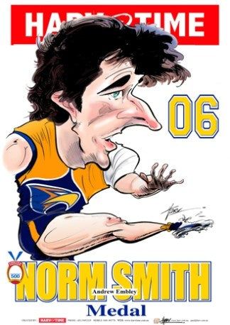 Andrew Embley, 2006 Norm Smith Medal, Harv Time Poster