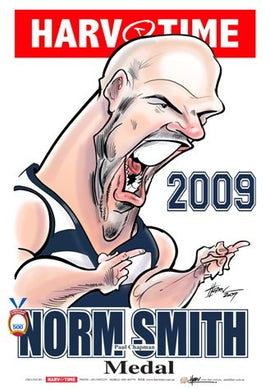Paul Chapman, 2009 Norm Smith Medal, Harv Time Poster