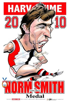 Lenny Hayes, 2010 Norm Smith Medal, Harv Time Poster