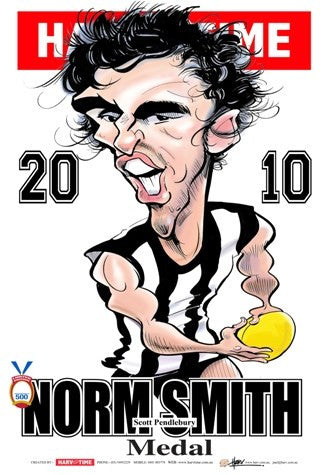 Scott Pendlebury, 2010 Norm Smith Medal, Harv Time Poster