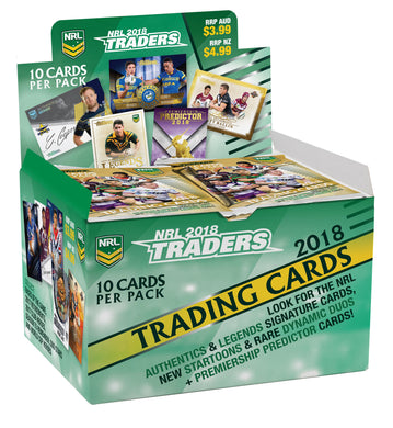 2018 esp Traders NRL 36 pack box