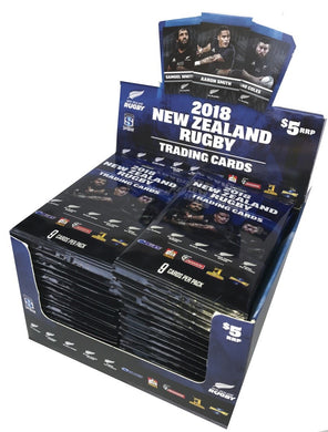 2018 TapnPlay New Zealand Rugby Trading Card Series, 36 pack box