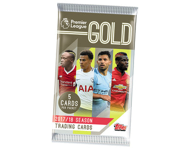 Topps Premier League Gold 2017-18 - Hobby Collection Pack