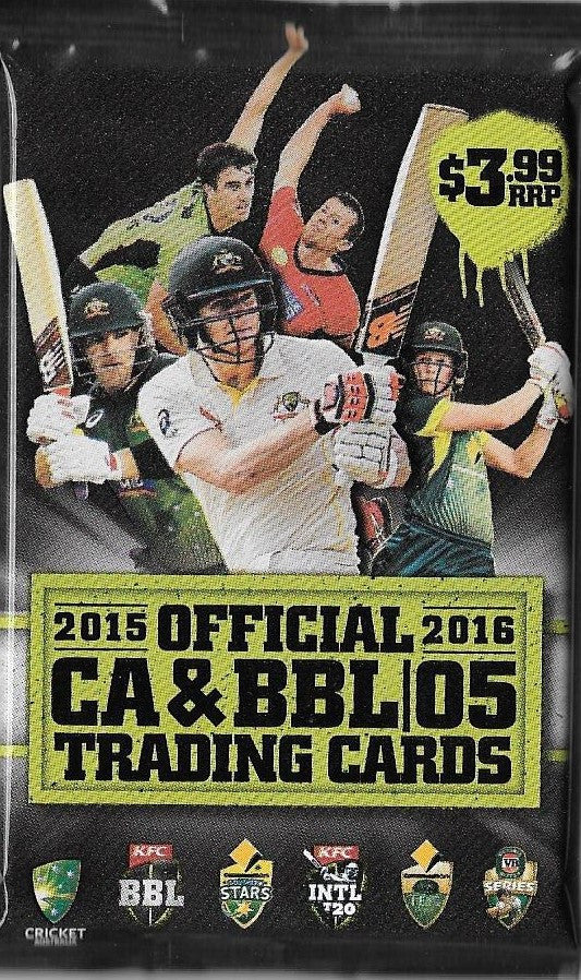 2015-16 TapnPlay CA & BBL Cricket Pack